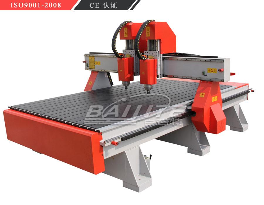 BJT 1325独立双头木工雕刻机